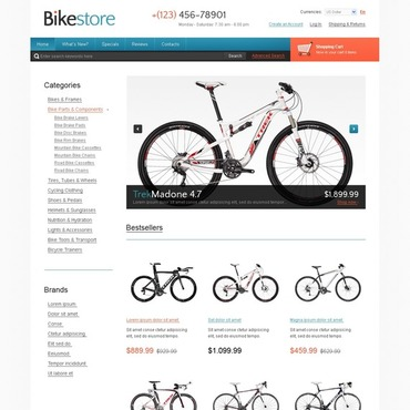 BMX OsCommerce Template
