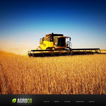 Agriculture Flash Template