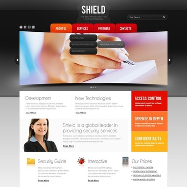 Information Security Website Template