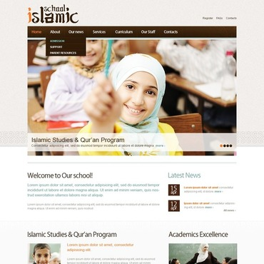 Islamic Social Center WordPress Theme