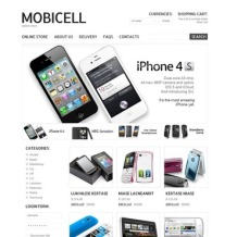 Mobile Store VirtueMart Template