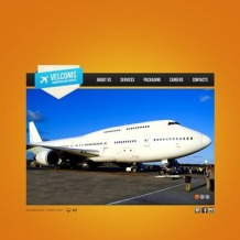 Private Airline Flash Template