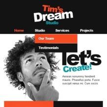 Designer Portfolio Facebook Template