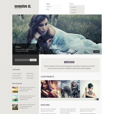 Photo Studio WordPress Theme