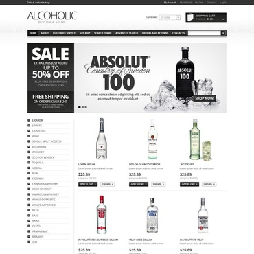 Food & Drink Magento Theme
