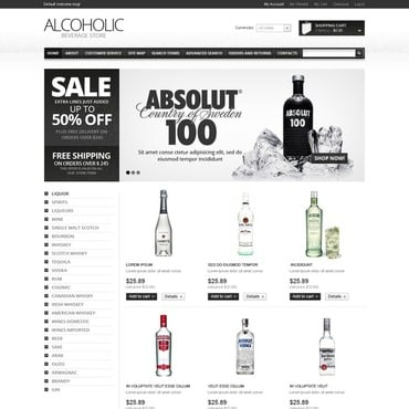 Food & Drink Magento Theme #38287