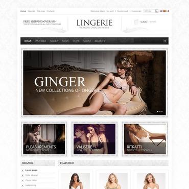 Lingerie PrestaShop Theme
