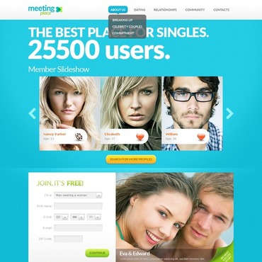 Dating Website Template