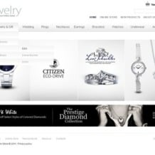 Jewelry Flash CMS Template