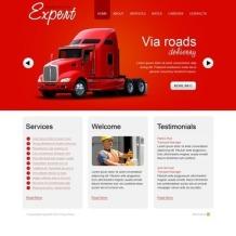 Transportation Flash CMS Template