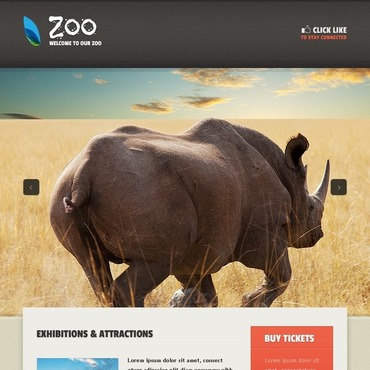 Zoo Facebook Template