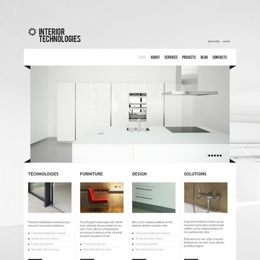 Interior & Furniture Joomla Template