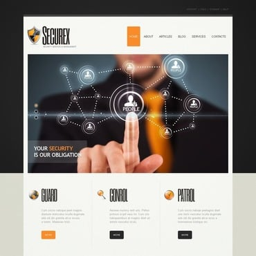 Security Joomla Template