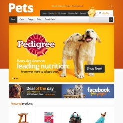 Pet Shop OpenCart Template