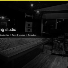 Recording Studio WordPress Theme