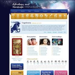 Fortune Teller Website Template