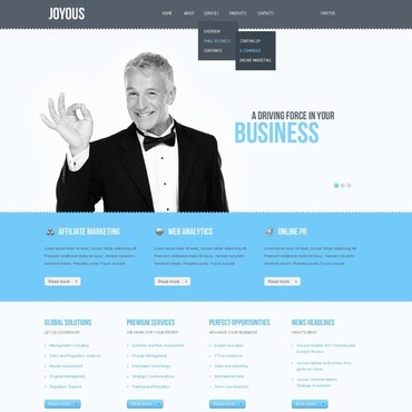Marketing Agency Website Template