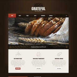 Bakery Responsive Website Template