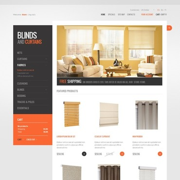 Window Decor PrestaShop Theme