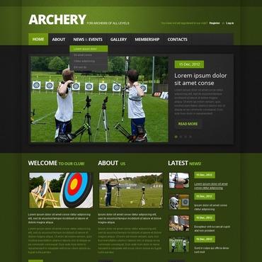 Archery Website Template