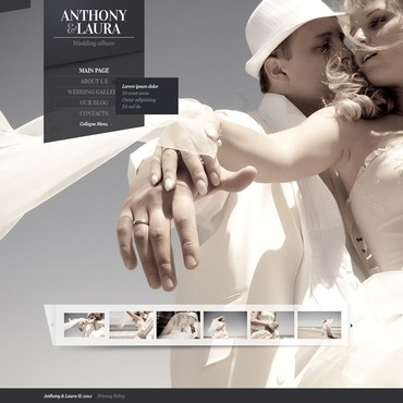 Wedding Album Joomla Template