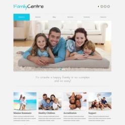 Family Center Joomla Template