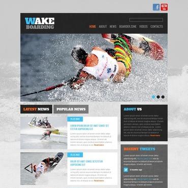Surfing Website Template