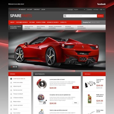 Spares for Your Bolide Magento Theme #40683