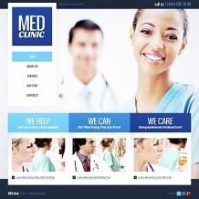 Medical Moto CMS HTML Template
