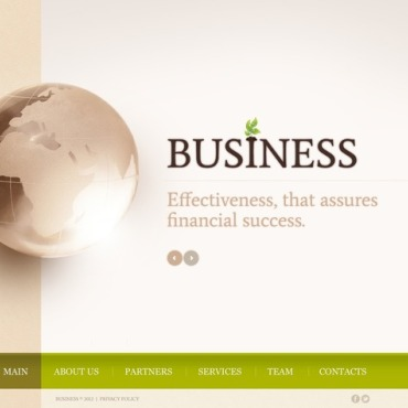 Business Flash Template #40711