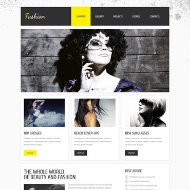 Apparel Joomla Template