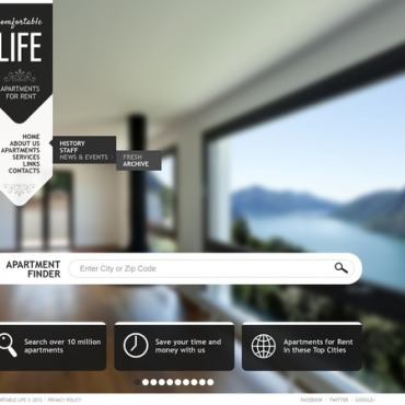 Real Estate Flash Template