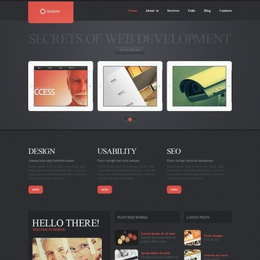 Web Design WordPress Theme