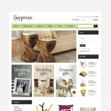 Gifts Store VirtueMart Template
