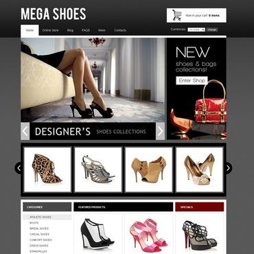 Shoe Store VirtueMart Template