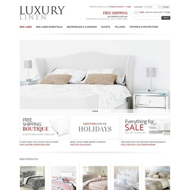 Home Decor VirtueMart Template