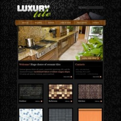 Interior & Furniture Facebook HTML CMS Template