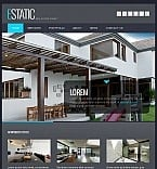Real Estate Agency Facebook HTML CMS Template