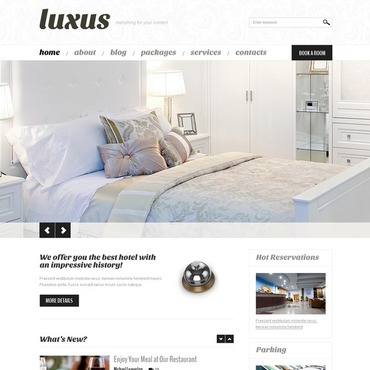 Hotels WordPress Theme