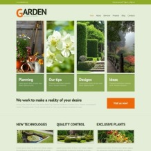 Garden Design WordPress Theme