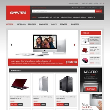Computer Store Magento Theme