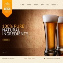 Brewery Website Template