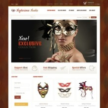 Halloween VirtueMart Template