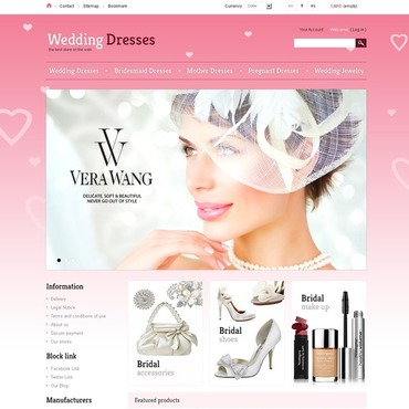 Wedding Dresses PrestaShop Theme