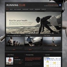 Running Moto CMS HTML Template