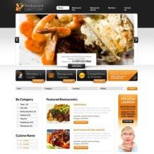Restaurant Reviews Flash CMS Template