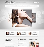 Photographer Portfolio Photo Gallery Template #44371