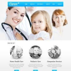 Medical Responsive Joomla Template