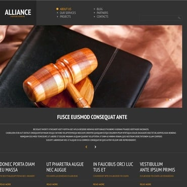 Law Firm Responsive WordPress Theme