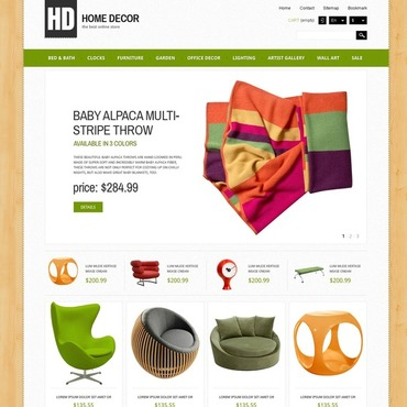 Interior Design Responsive PrestaShop Theme